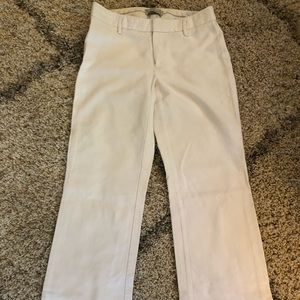 White GAP trousers